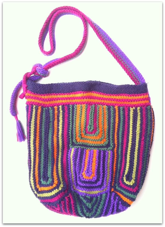 Patchwork Knitting Bag Pattern : Patchwork Purse Collection #4 Knitting Basket